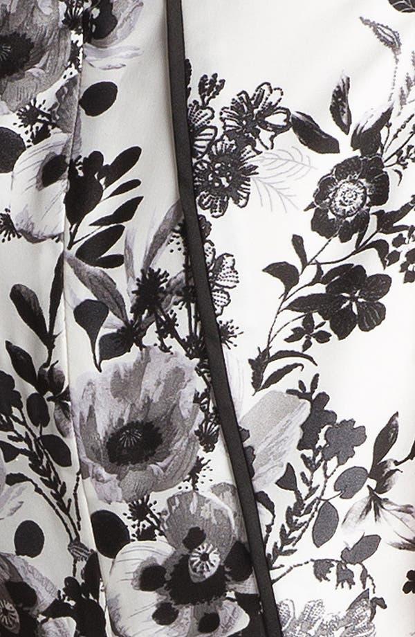 Alternate Image 5  - Vince Camuto Garden Print Peplum Blouse