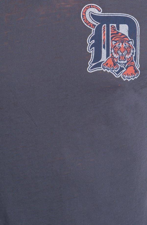 Alternate Image 3  - Red Jacket 'Tigers - V-Wood' V-Neck T-Shirt