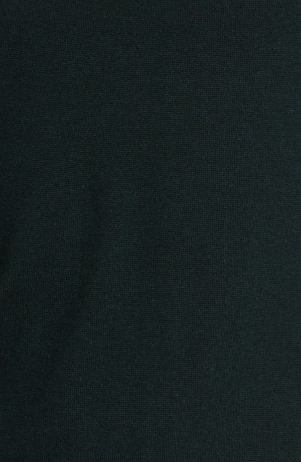 Alternate Image 3  - Armani Collezioni Quarter Zip Sweater