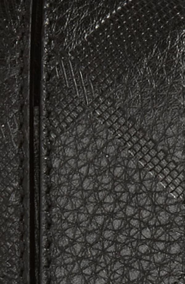 Alternate Image 2  - Burberry Check Stamped Reversible Belt