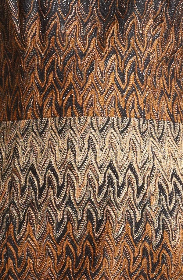 Alternate Image 3  - Missoni Flame Stitch Knit Dress