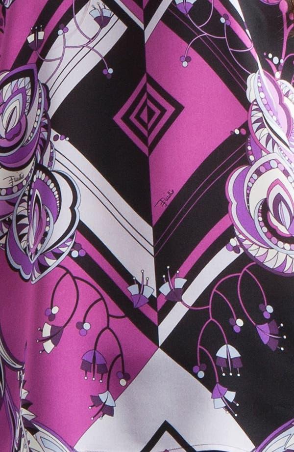 Alternate Image 3  - Emilio Pucci 'Jazz' Print Charmeuse Blouse