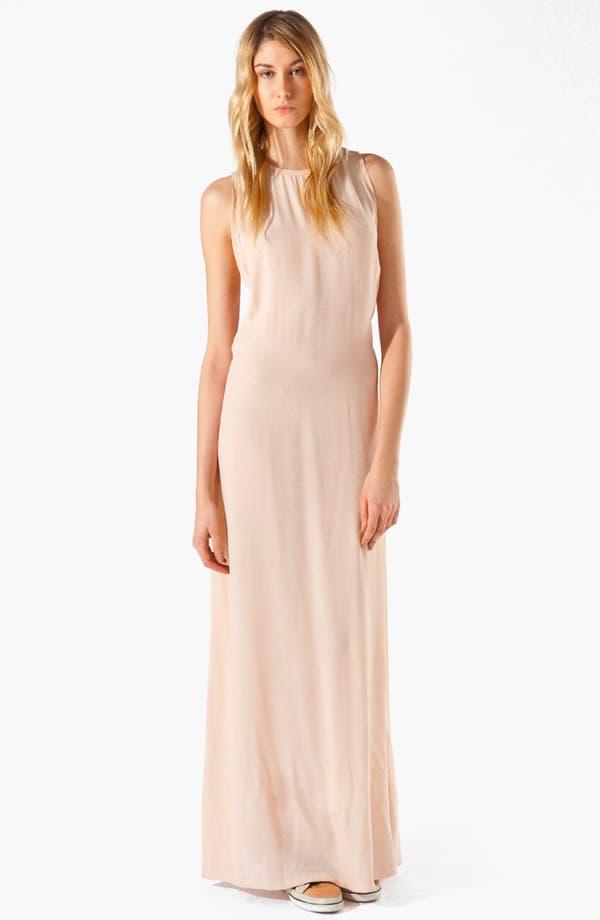 Alternate Image 1 Selected - maje 'Armance' Macramé Maxi Dress