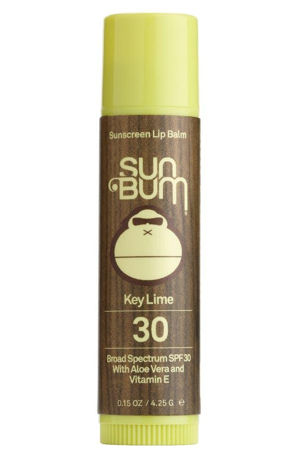 Alternate Image 1 Selected - Sun Bum Key Lime Lip Balm Broad Spectrum SPF 30