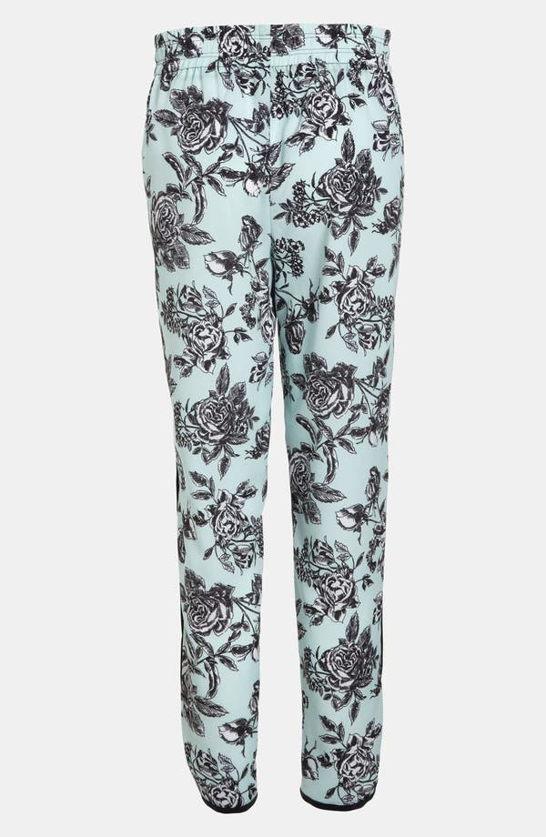 Alternate Image 2  - Wayf Tuxedo Stripe Floral Pants