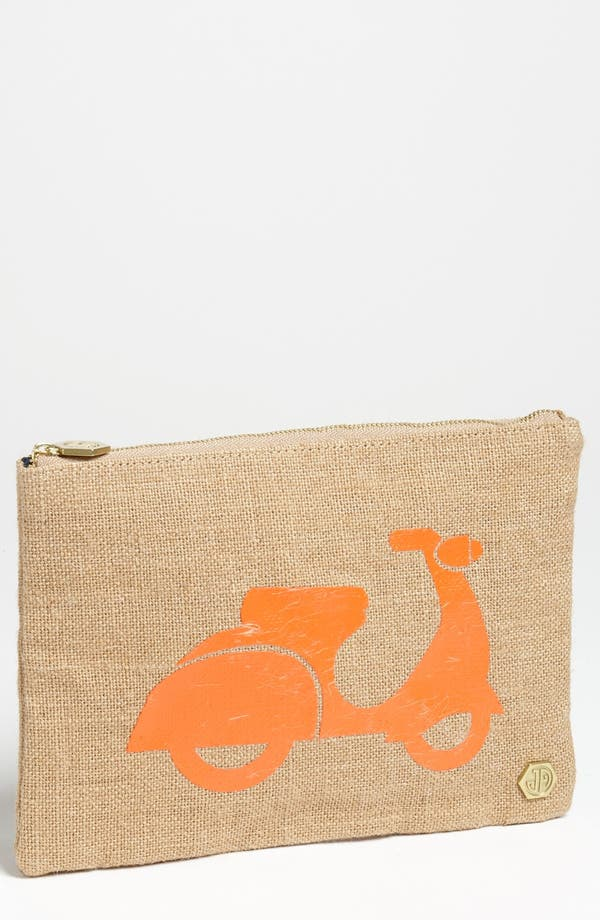 Alternate Image 1 Selected - Jonathan Adler 'Scooter' Canvas Pouch