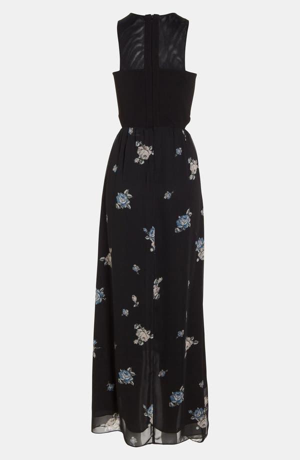 Alternate Image 3  - Like Mynded Print Maxi Dress