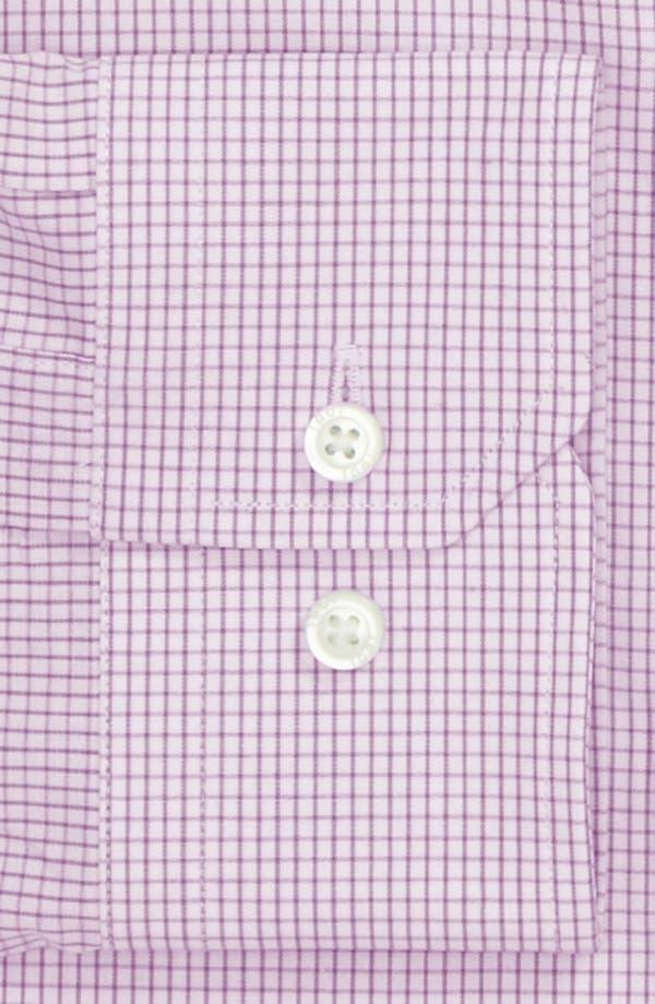 Trim Fit Dress Shirt,                             Alternate thumbnail 2, color,                             Lavender