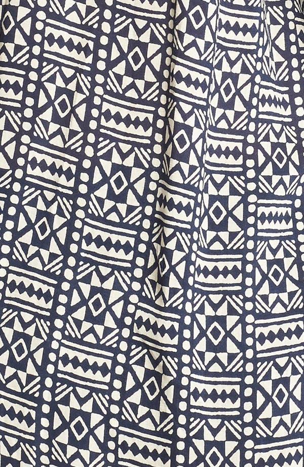 Alternate Image 3  - Lucky Brand 'John Robshaw - Joplin' Print Peasant Top (Plus Size)