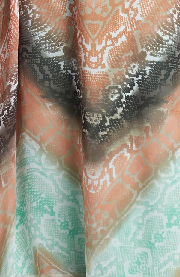 Alternate Image 3  - Vince Camuto Python Print Chiffon Maxi Dress