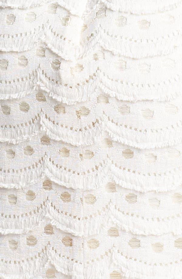 Alternate Image 3  - BCNU Scallop Lace Skirt (Juniors)