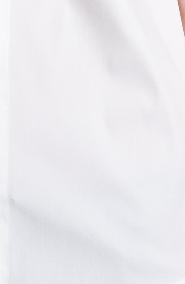 Alternate Image 3  - Lafayette 148 New York 'Excursion Stretch' Short Sleeve Blouse