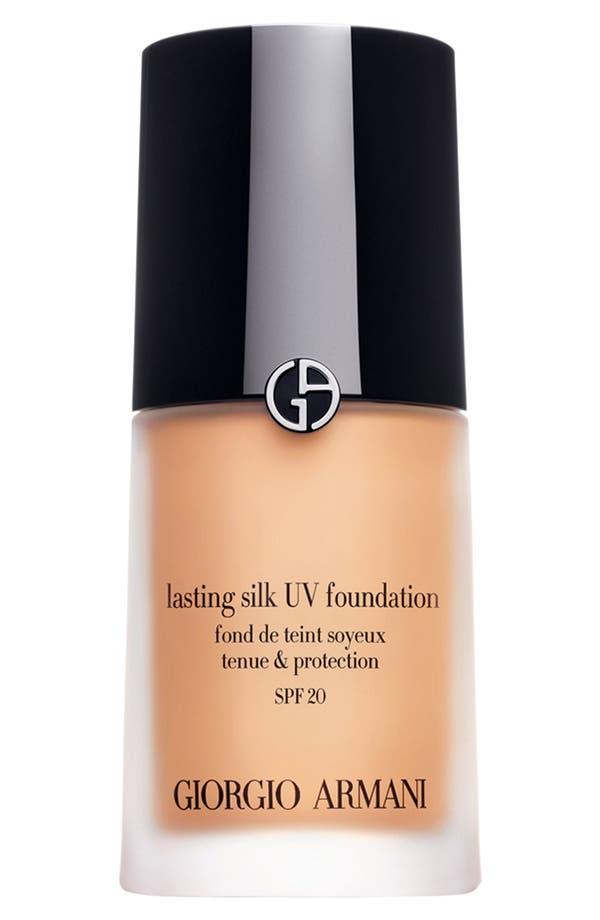 'Lasting Silk' UV Foundation SPF 20,                         Main,                         color, 5 Warm Beige