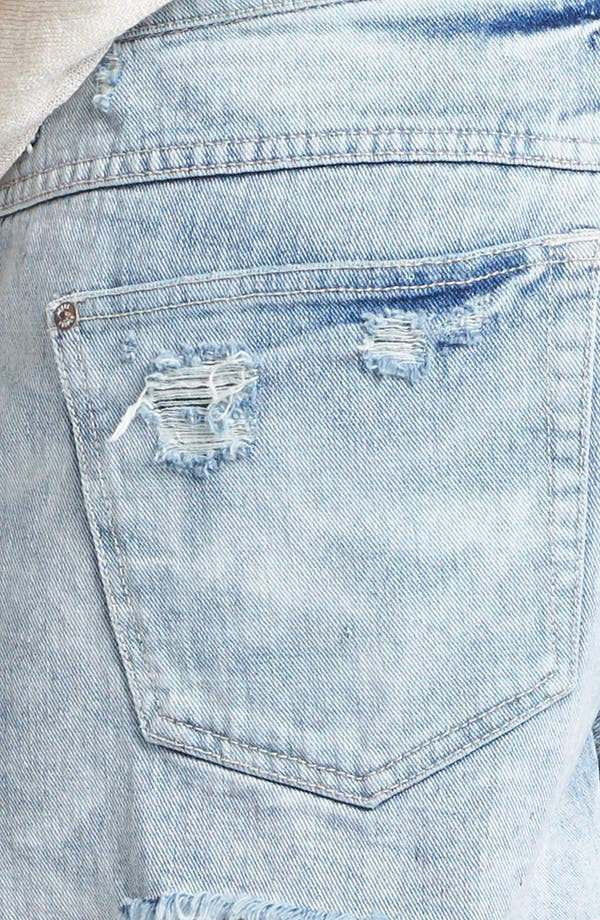 Alternate Image 3  - Free People Denim Cutoff Shorts (Summer Sky)