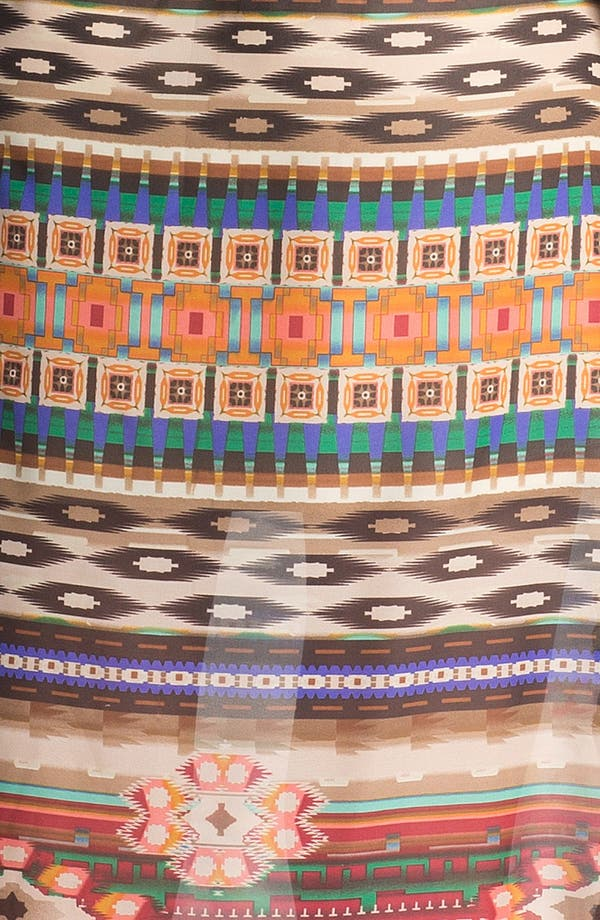 Alternate Image 3  - Mimi Chica Back Cutout Print Maxi Dress (Juniors)