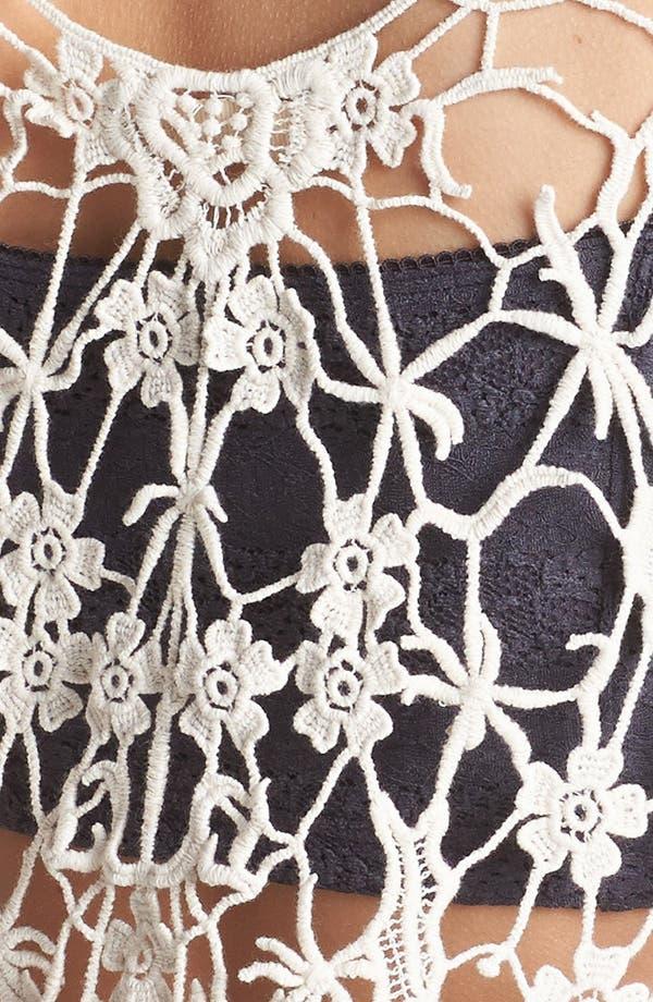 Alternate Image 3  - Elodie Crochet Back Tank (Juniors)