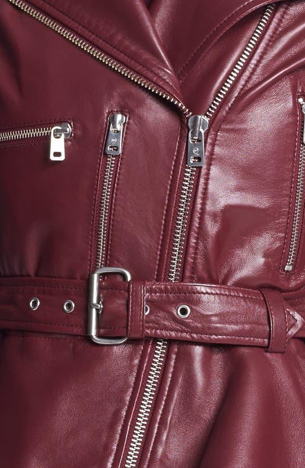 Alternate Image 4  - McQ by McQueen 'Congo' Leather Biker Jacket