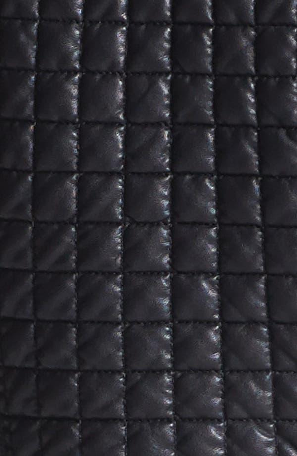 Alternate Image 5  - Two by Vince Camuto 'Hathaway' Quilted Faux Leather Jacket