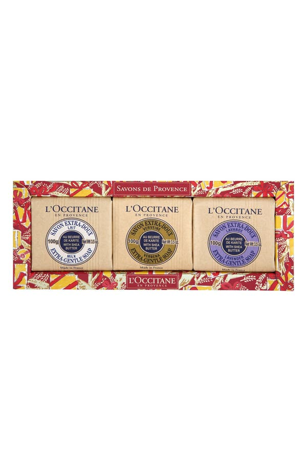 Alternate Image 1 Selected - L'Occitane Deluxe Soap Set (Limited Edition) ($21 Value)