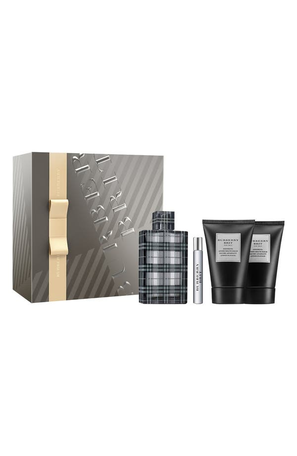 Main Image - Burberry Brit for Men Holiday Gift Set (Limited Edition) ($138 Value)