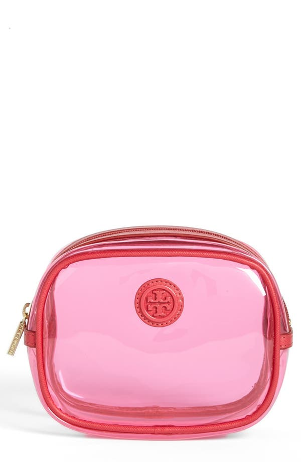 Alternate Image 1 Selected - Tory Burch 'Lizzie - Small Classic' Cosmetics Case