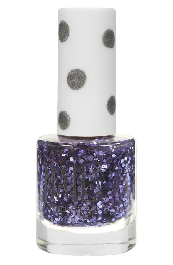 Alternate Image 1 Selected - Topshop Glitter Nail Polish