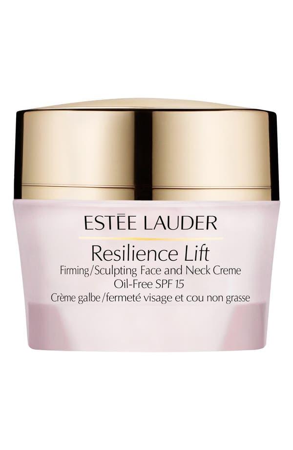 Main Image - Estée Lauder Resilience Lift Firming/Sculpting Face & Neck Creme Oil-Free SPF 15