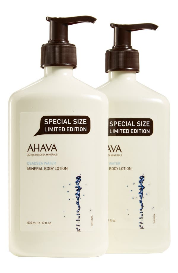 Alternate Image 1 Selected - AHAVA Mineral Body Lotion Duo ($96 Value)