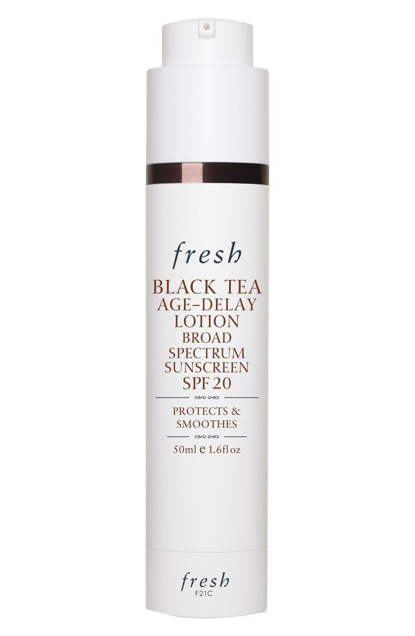 Main Image - Fresh® Black Tea Age-Delay Lotion Broad Spectrum Sunscreen SPF 20
