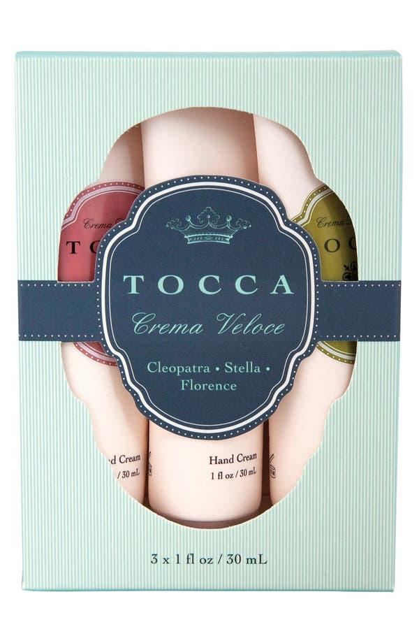 Alternate Image 2  - TOCCA 'Crema Veloce' Hand Cream Trio (Limited Edition)