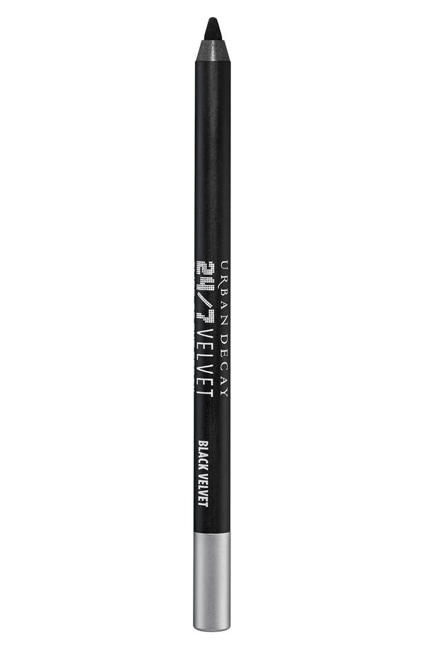 24/7 Velvet Glide-On Eye Pencil,                             Main thumbnail 1, color,                             Black Velvet