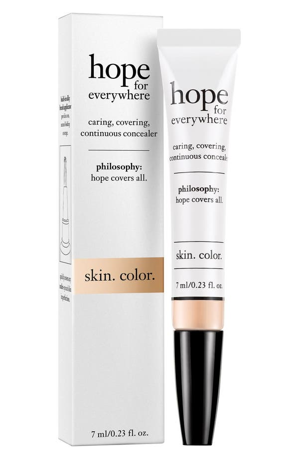'hope for everywhere' concealer,                         Main,                         color, Shade 3.5