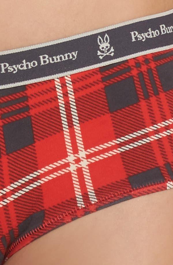 Alternate Image 8  - Psycho Bunny Logo Boyshorts