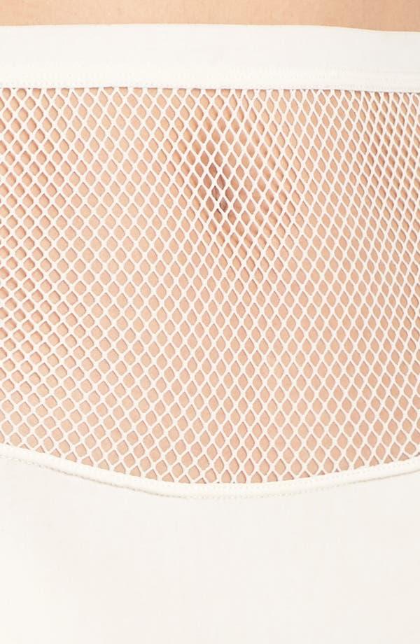 Honeydew Fishnet Hipster Panties,                             Alternate thumbnail 5, color,                             Macrame