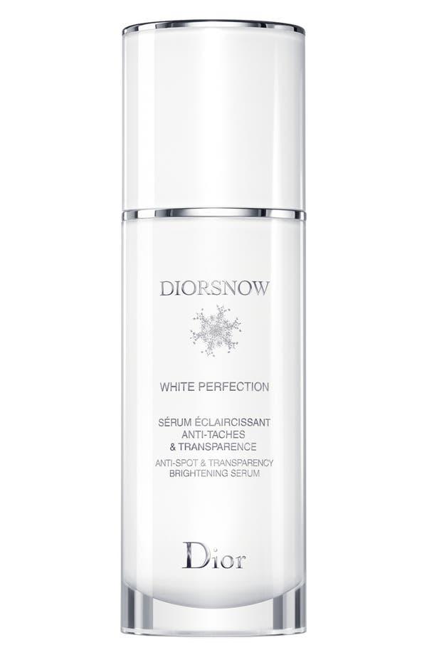Alternate Image 1 Selected - Dior 'Diorsnow White Perfection' Anti-Spot & Transparency Brightening Serum