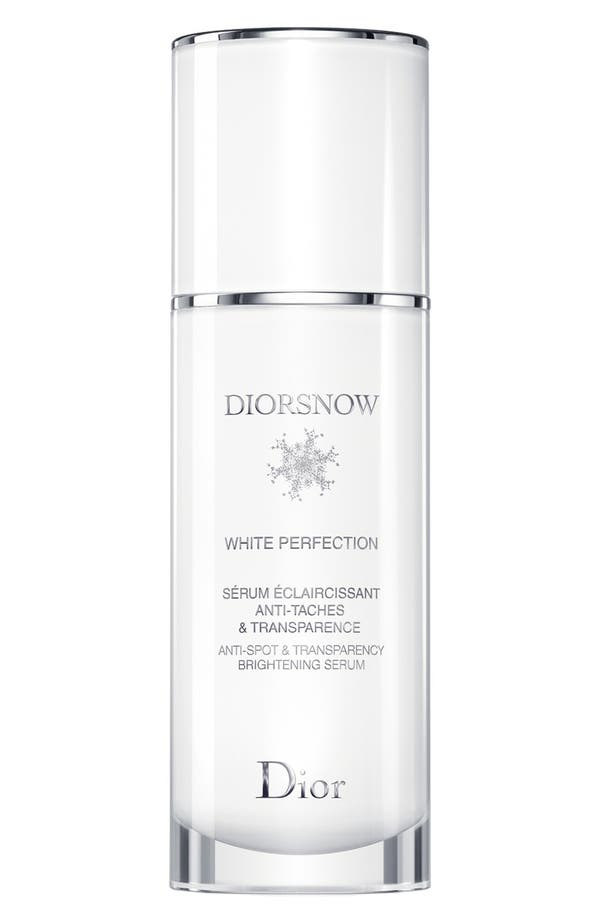 'Diorsnow White Perfection' Anti-Spot & Transparency Brightening Serum,                         Main,                         color, No Color