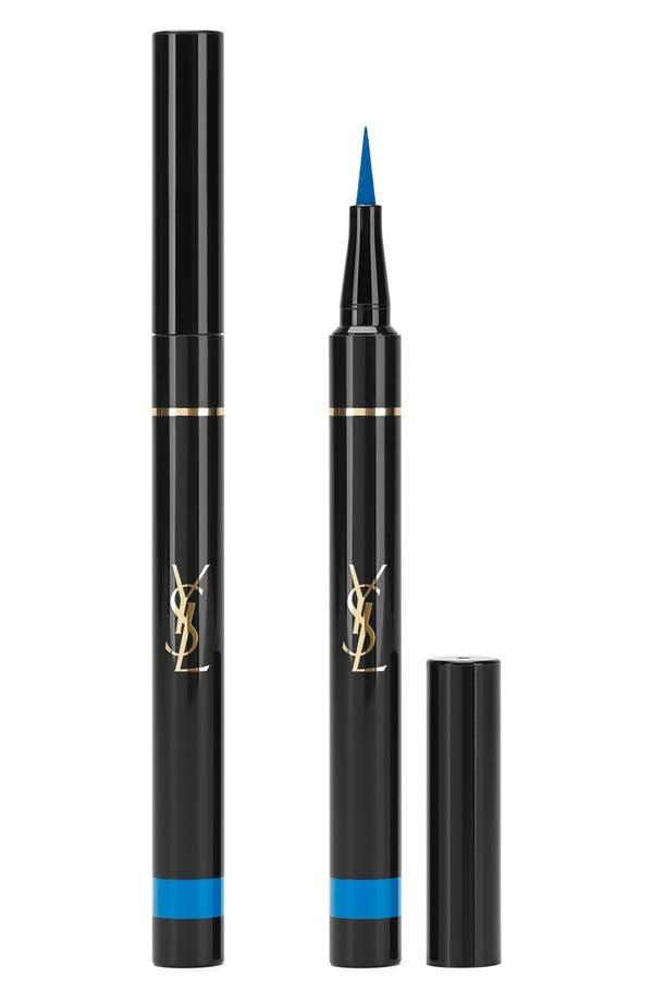 'Eyeliner Effet Faux Cils' Bold Felt Tip Eyeliner Pen,                         Main,                         color, 02 Majorelle Blue