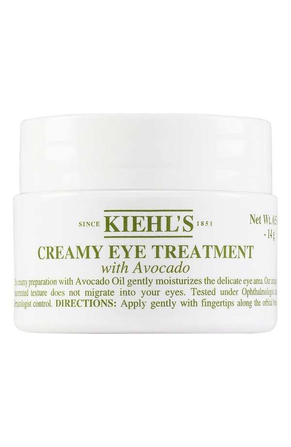 Main Image - Kiehl's Since 1851 Creamy Eye Treatment with Avocado (0.5 oz.)