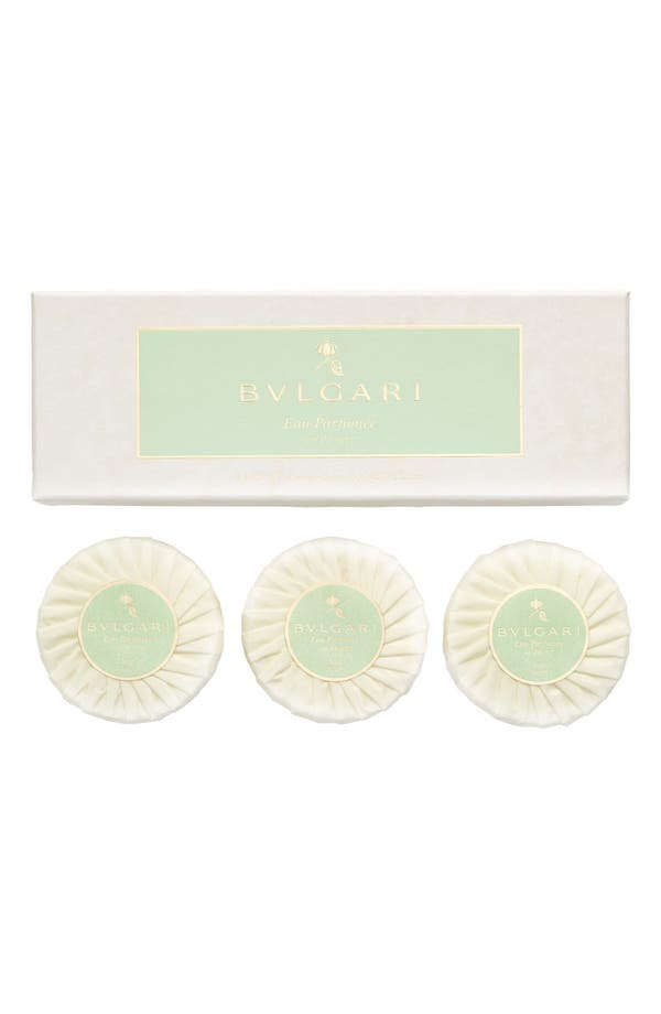 Alternate Image 1 Selected - BVLGARI 'Eau Parfumée au thé vert' Soap Set
