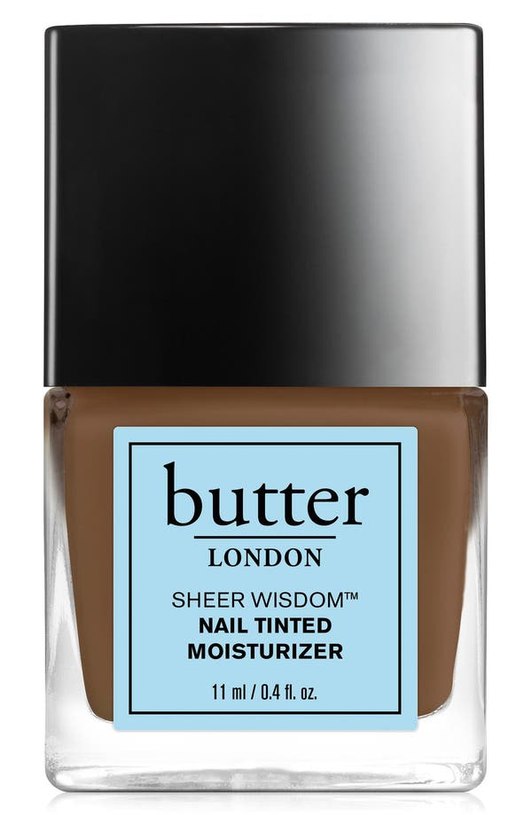Main Image - butter LONDON 'Sheer Wisdom™' Nail Tinted Moisturizer