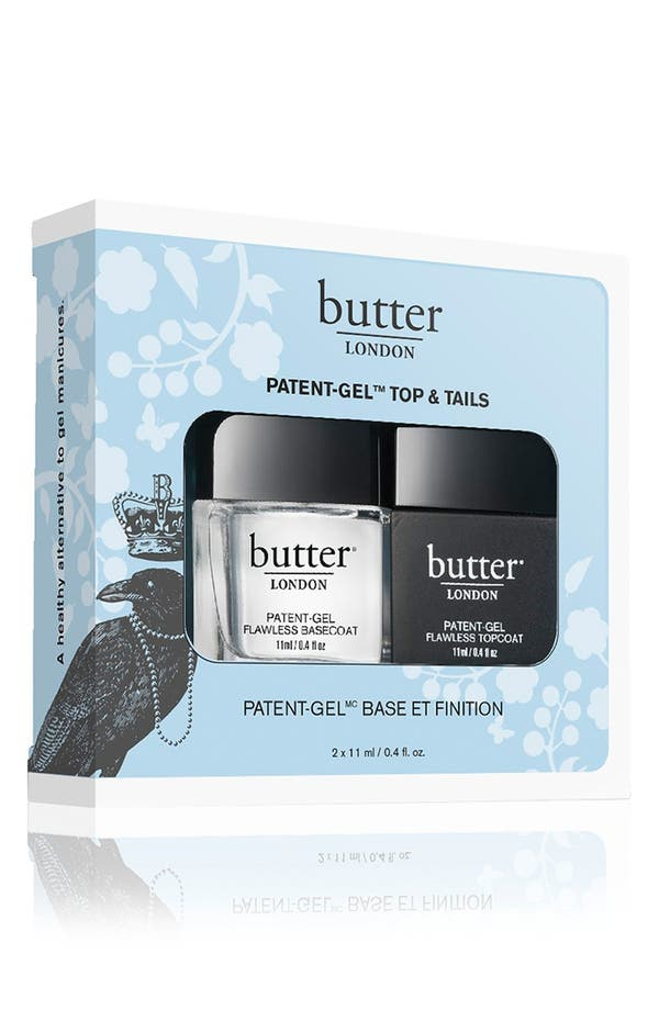 Main Image - butter LONDON 'Patent-Gel Top & Tails' Set