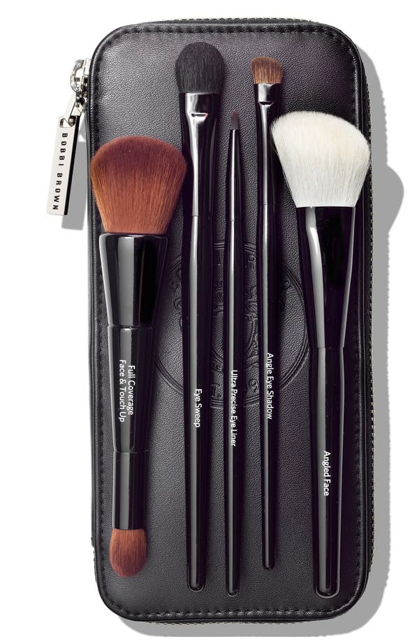 'Bobbi on Trend - Full-Size Brushes' Set,                             Main thumbnail 1, color,                             No Color