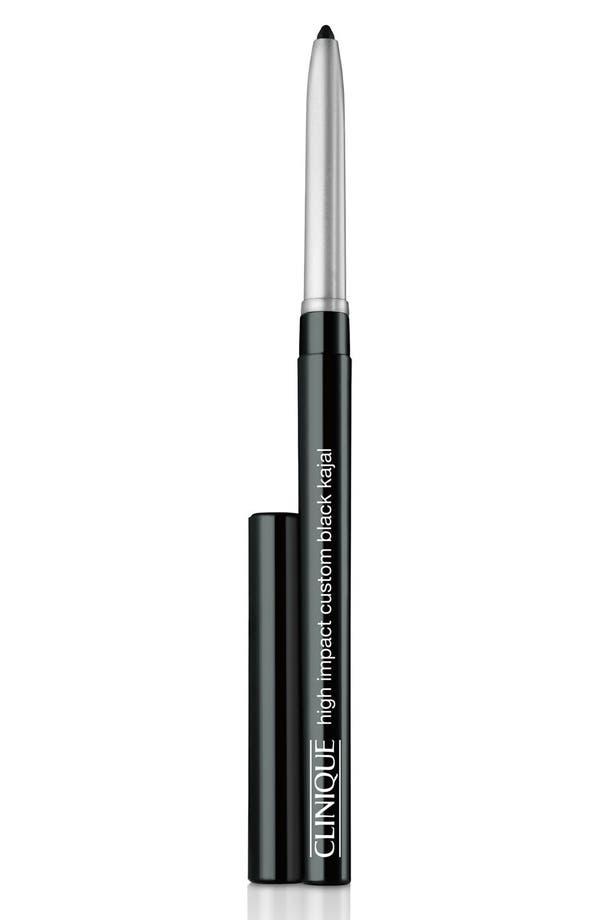 High Impact Custom Black Kajal Eyeliner Pencil,                         Main,                         color, Black