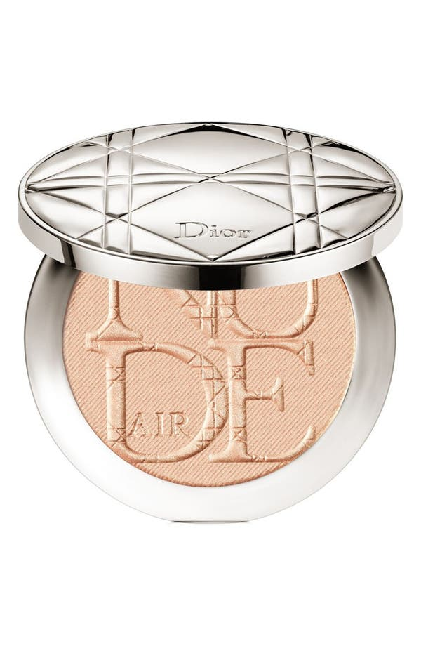 Diorskin Nude Air Luminizer Powder,                         Main,                         color, 001 Nude Glow