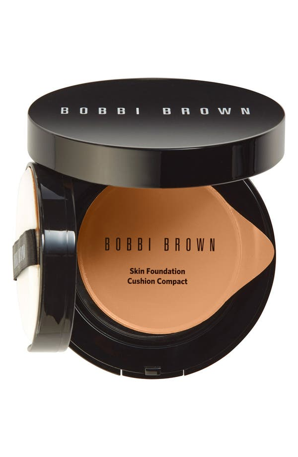 Skin Foundation Cushion Compact SPF 35,                         Main,                         color, 06 Medium To Dark