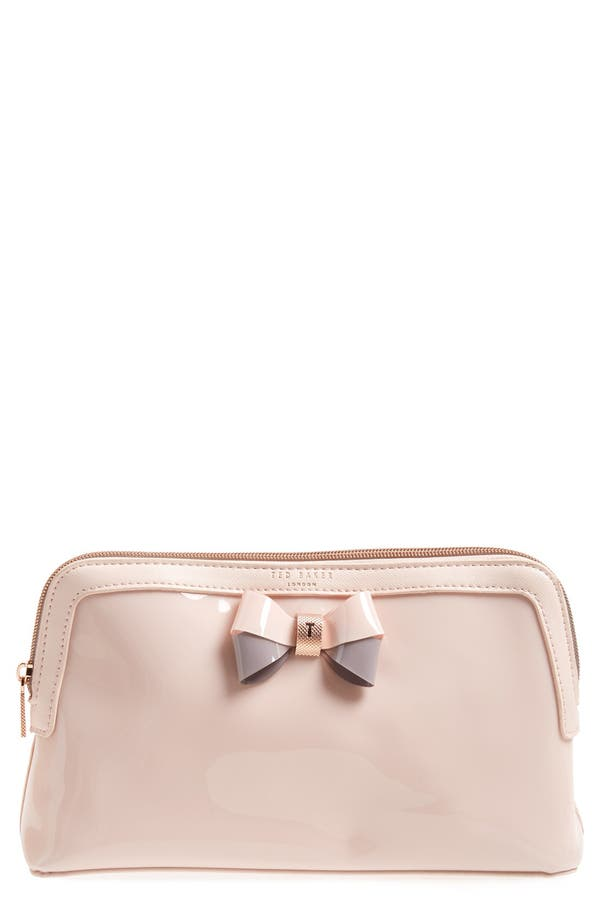 Alternate Image 1 Selected - Ted Baker London 'Large Bow - Madlynn' Cosmetics Case