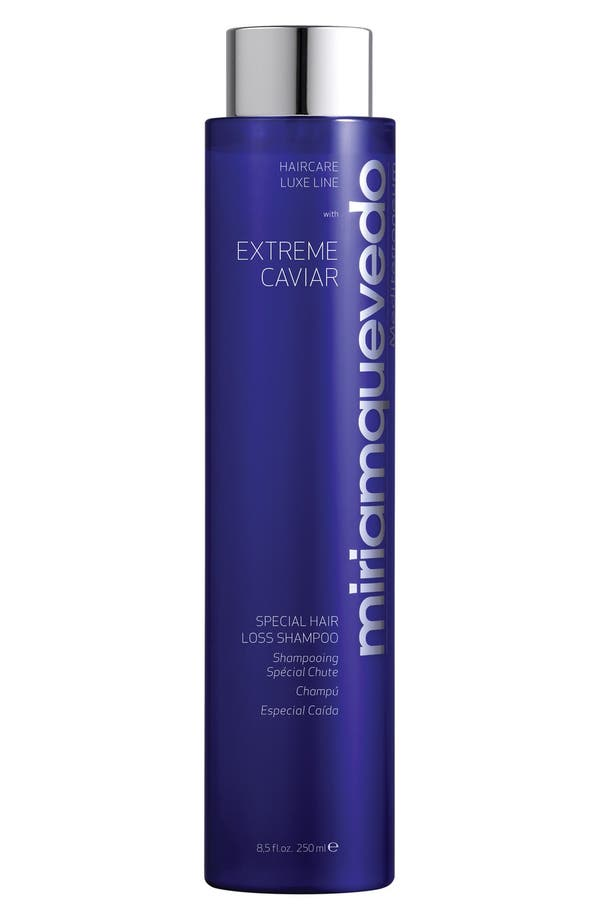 Alternate Image 1 Selected - SPACE.NK.apothecary Miriam Quevedo Extreme Caviar Special Hair Loss Shampoo
