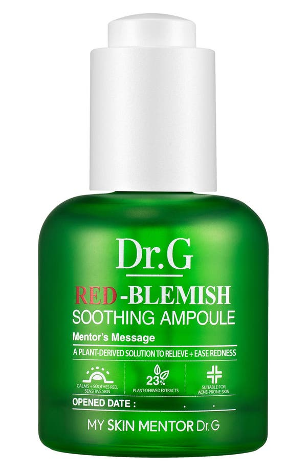 Red-Blemish Soothing Ampoule,                             Main thumbnail 1, color,                             No Color