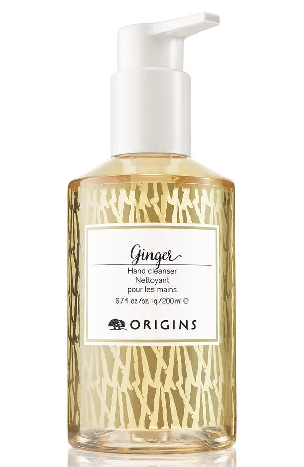Ginger Hand Cleanser,                         Main,                         color, No Color