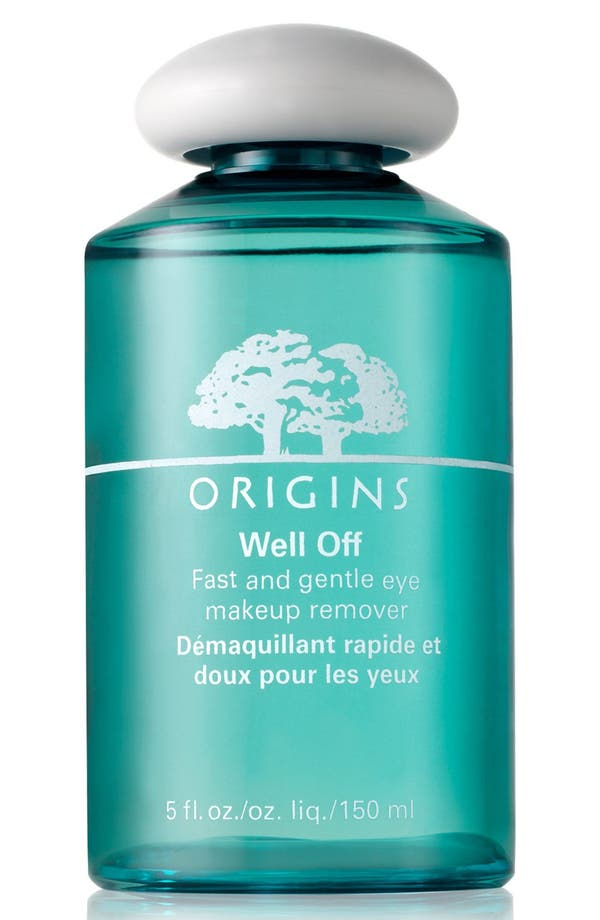 Alternate Image 1 Selected - Origins Well Off® Fast & Gentle Eye Makeup Remover
